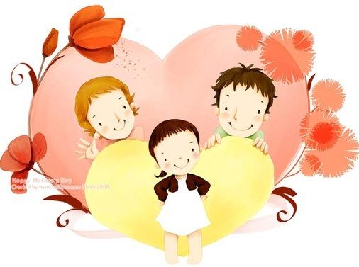 Рисунок с любовью к детям