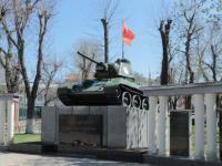 75-й лет со дня освобождения Симферополя от фашистских захватчиков.